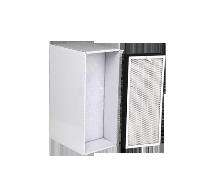 P08 integrated paper frame filter