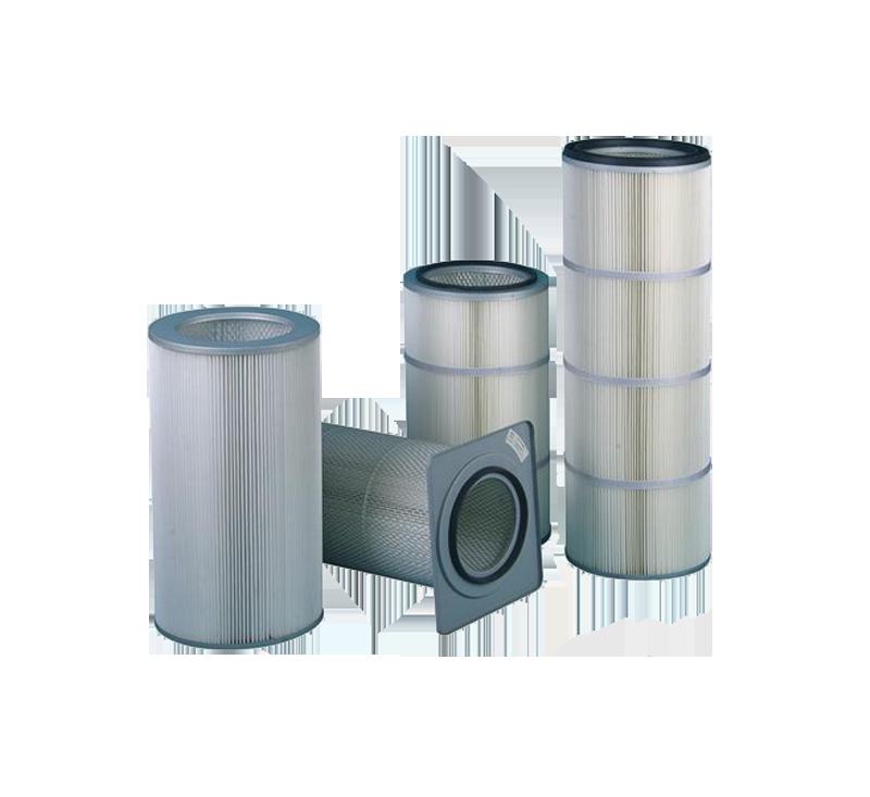 P10 multi-fold filter barrel