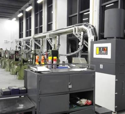 07 Dust removal case for metal grinder processing